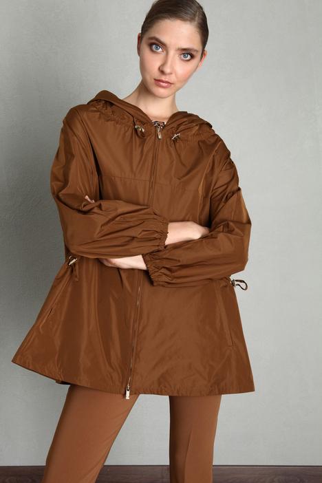 Short taffeta raincoat Intrend