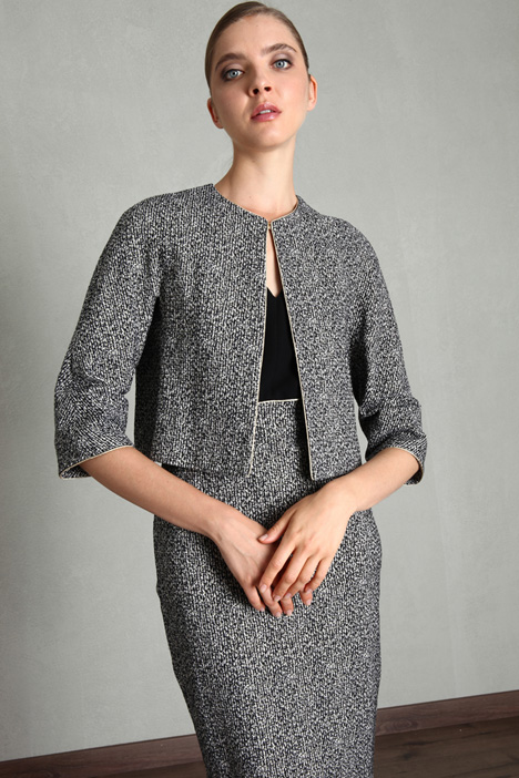 Short lurex jacket Intrend