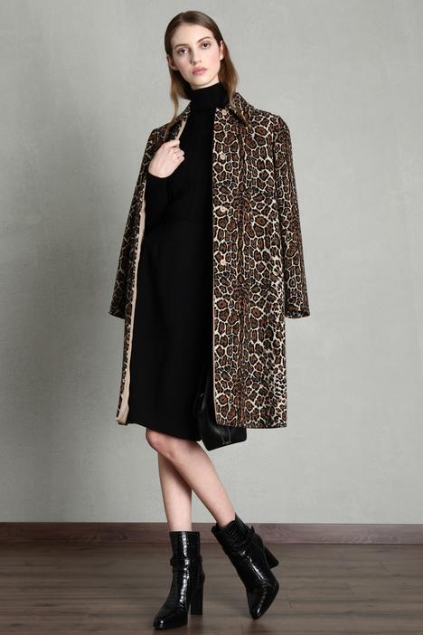 Jacquard cotton duster coat Intrend