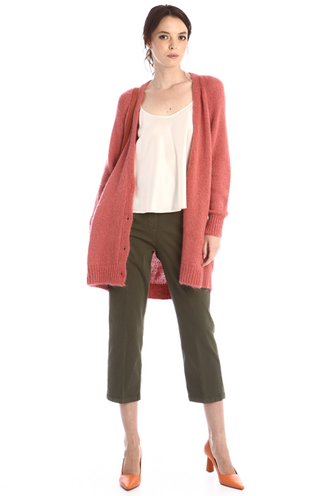 Cropped flare trousers Intrend