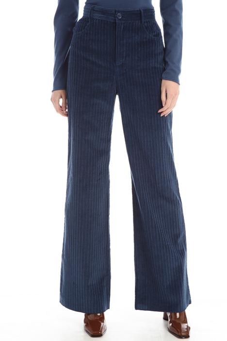 Ribbed velvet trousers Intrend
