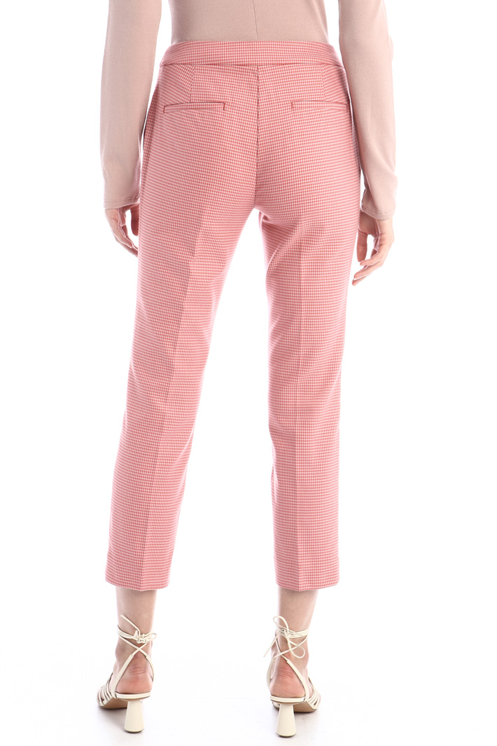 Slim fit cotton trousers Intrend