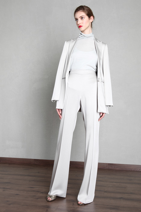 Envers satin palazzo trousers Intrend