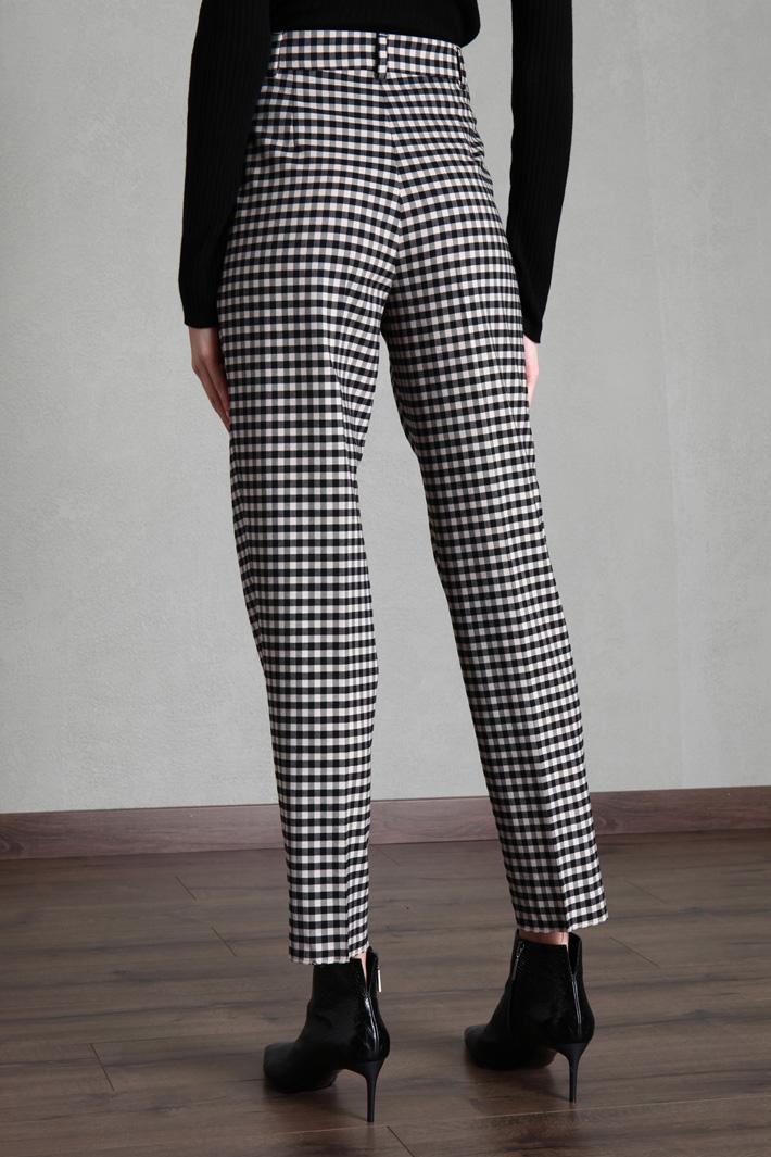 Wool-blend batavia trousers Intrend