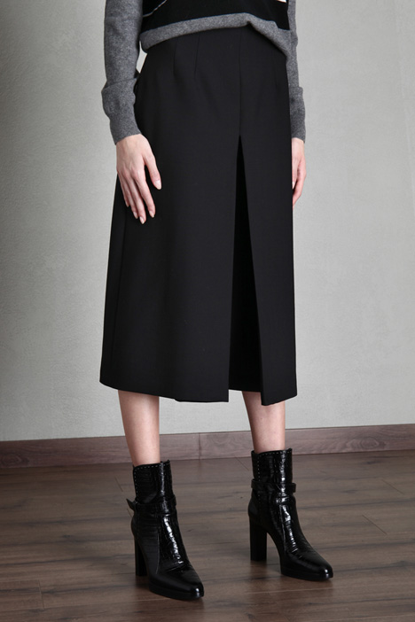 Wool canvas culottes Intrend