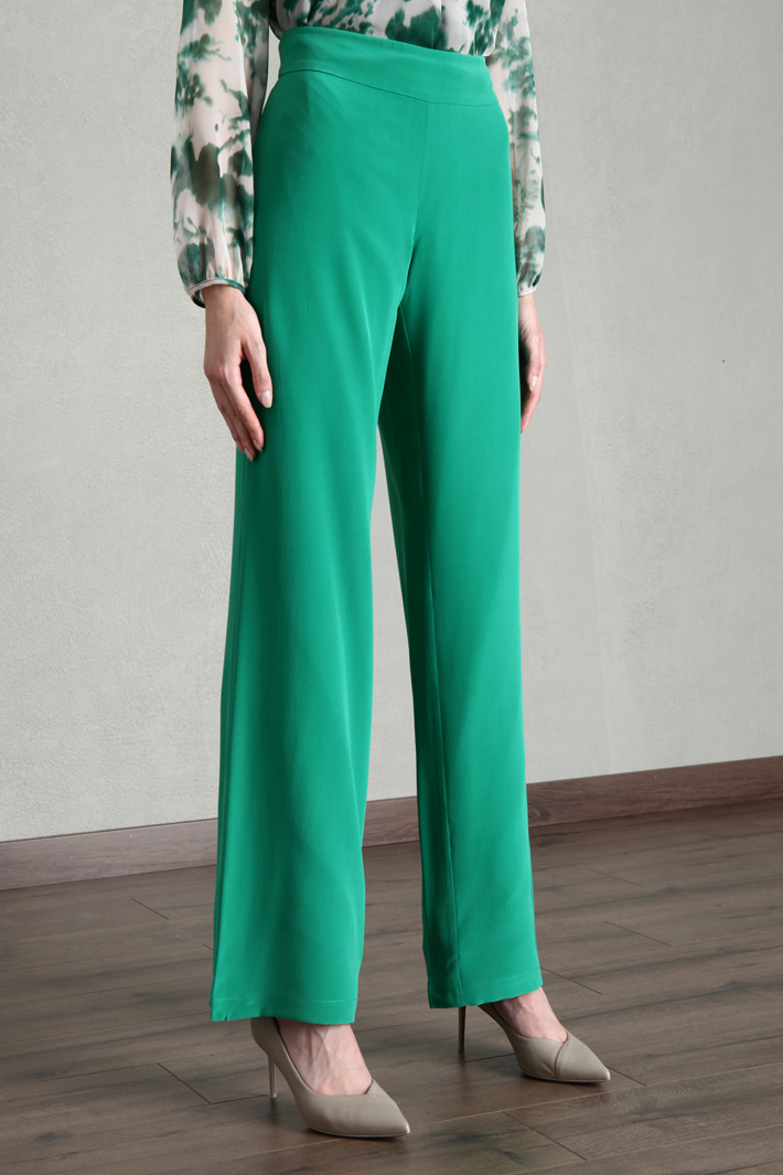 Silk palazzo trousers Intrend