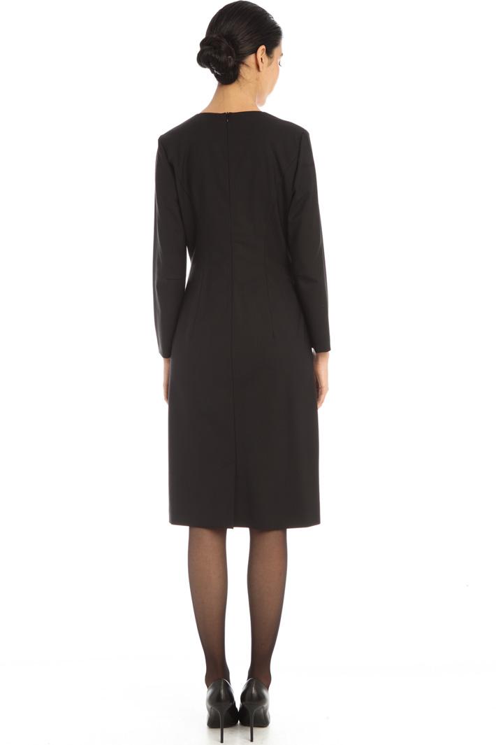 Twill sheath dress Intrend