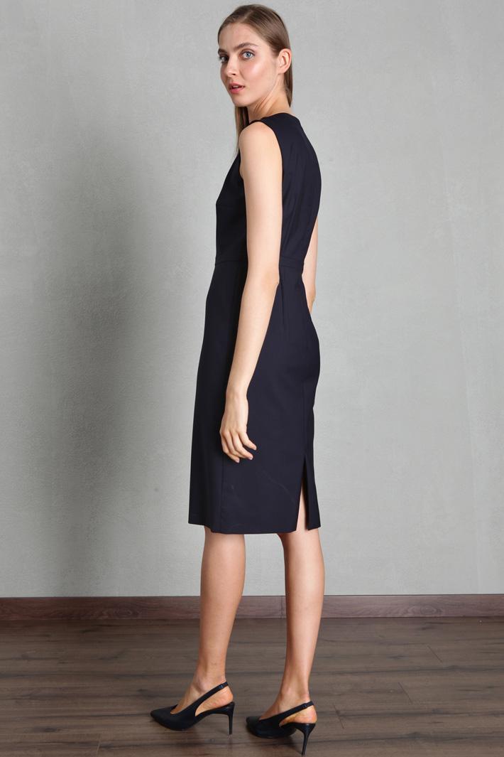 Wool twill dress Intrend