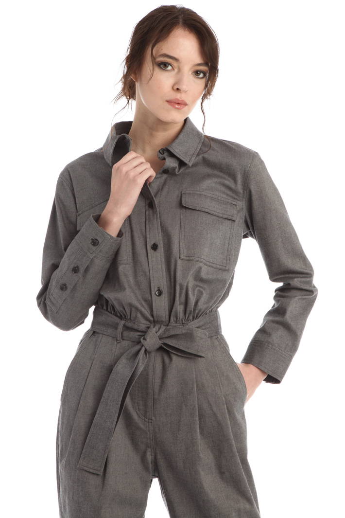 Cotton and viscose jumpsuit Intrend
