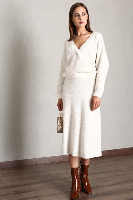 Knit tweed skirt Intrend