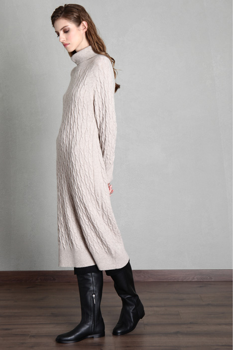 Wool and cashmere knit dress Intrend