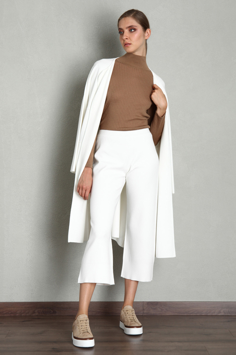 Cropped knit trousers Intrend