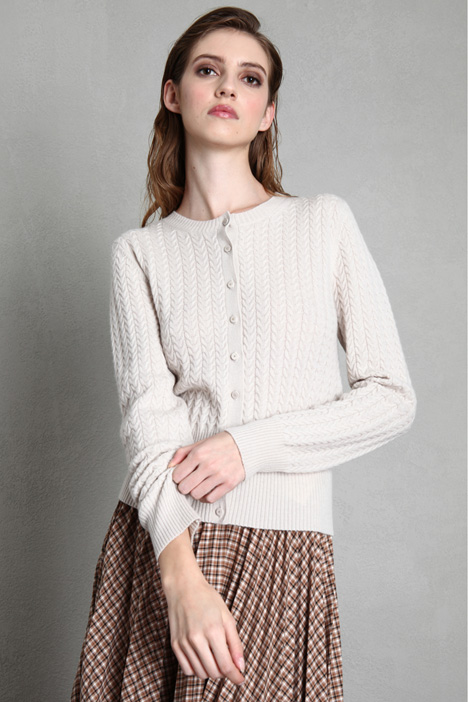 Cable-knit cardigan Intrend