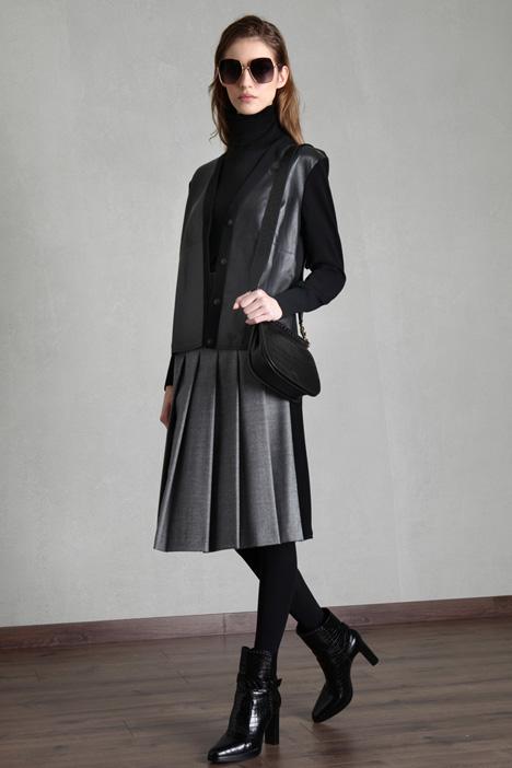 Leather cardigan Intrend