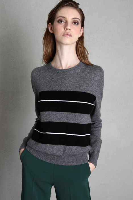 Wool and cashmere knit sweater Intrend