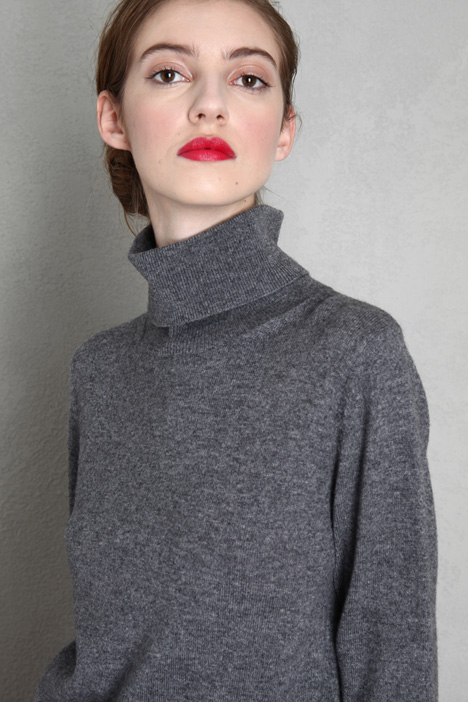 Turtleneck in wool and cashmere Intrend