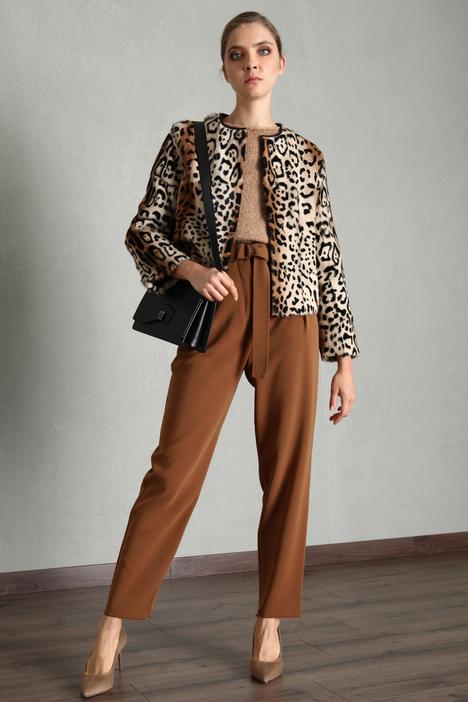 Fur jacket Intrend