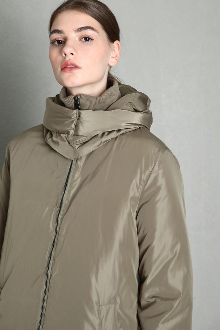 Satin puffer jacket Intrend