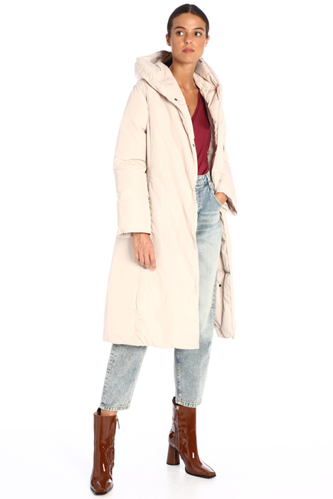 Long belted down coat Intrend