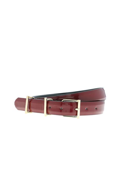 Patent leather belt Intrend