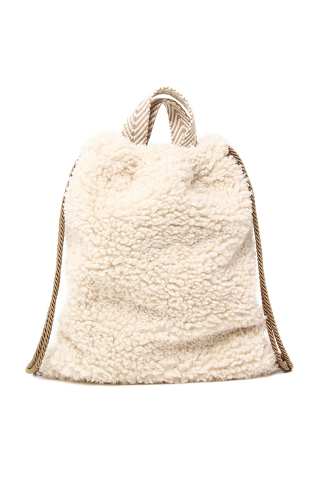 Plush backpack Intrend