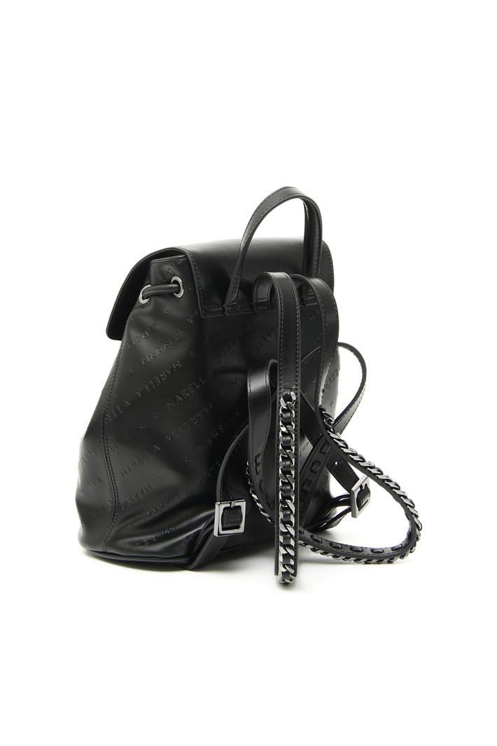 Faux leather rucksack Intrend