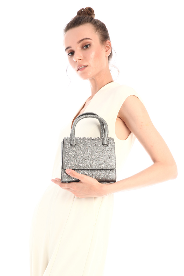Laminated-effect bag Intrend