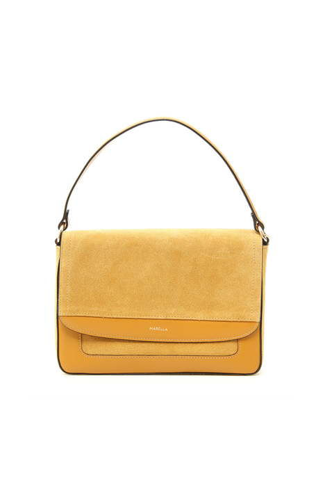 Leather and suede bag Intrend