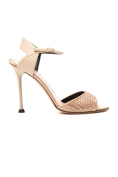 Rhinestone sandals Intrend