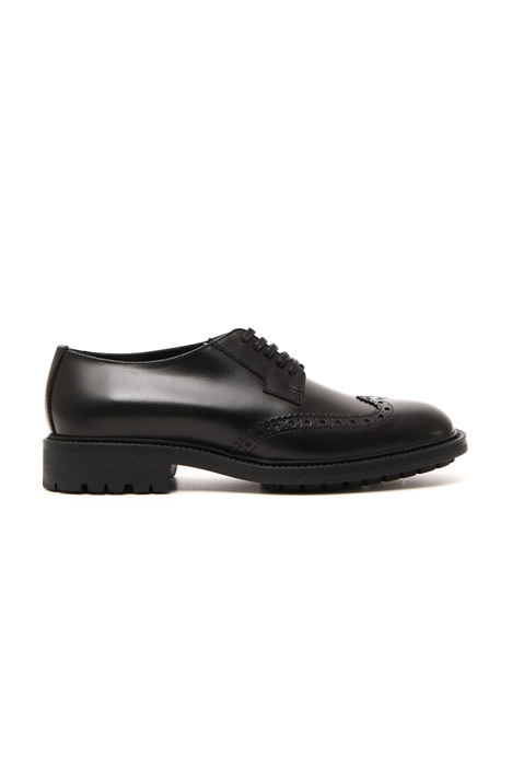 Leather derby shoes Intrend