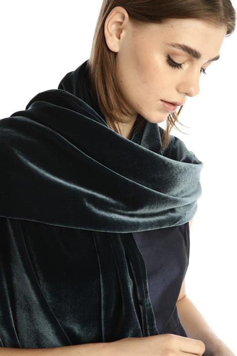 Velvet scarf Intrend