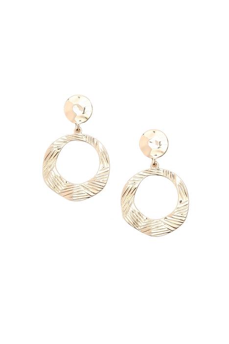 Ring earrings Intrend