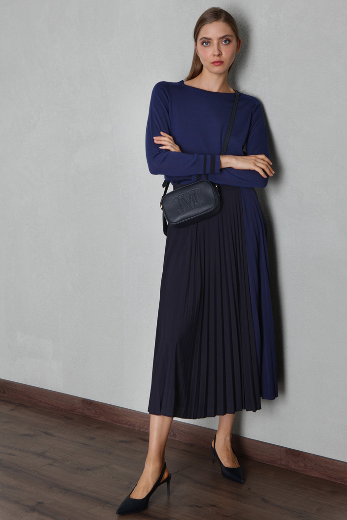 Jersey crepe skirt Intrend