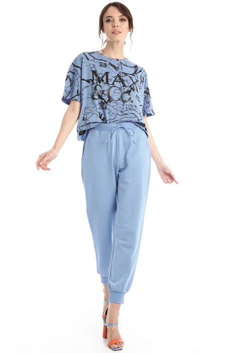 Jogger trousers in jersey Intrend