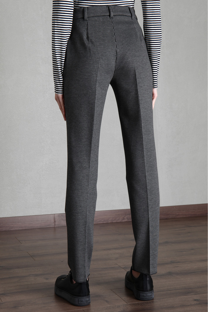 Straight jersey trousers Intrend