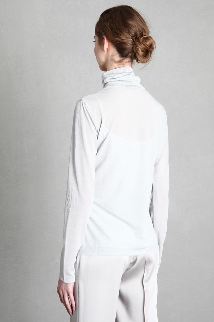 Lurex jersey top Intrend