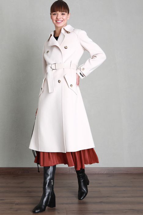 Double wool trench coat Intrend