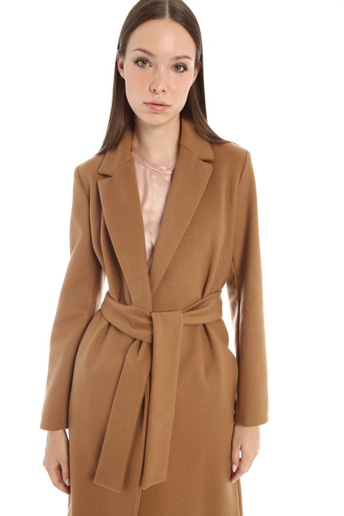 Wrap-up drap coat Intrend