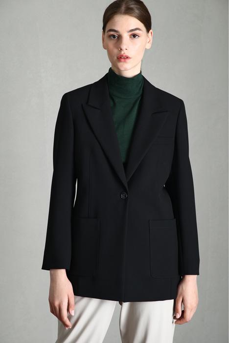 Double fabric blazer Intrend