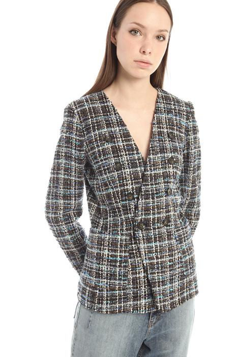 Lurex tweed blazer Intrend