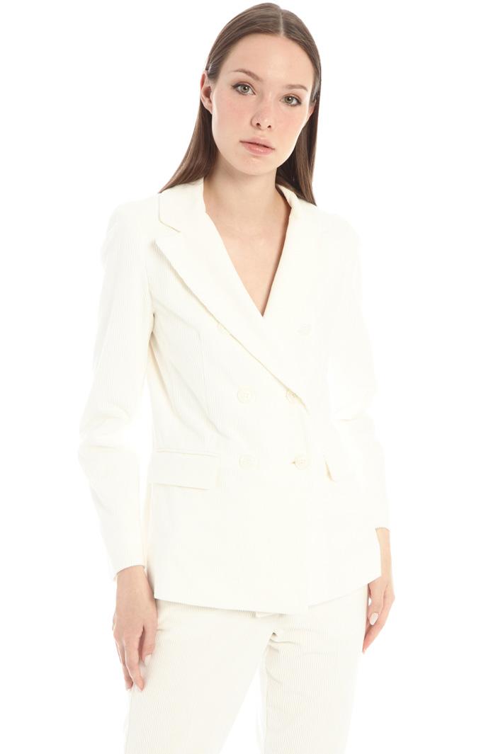 Cotton velvet jacket Intrend