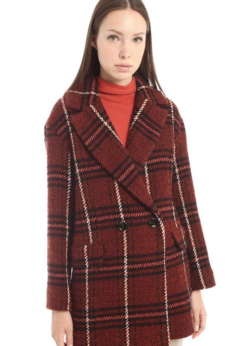 Caban in lana bouclè Intrend