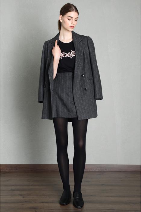 Flannel mini skirt Intrend