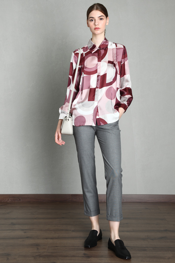 Patterned blouse Intrend