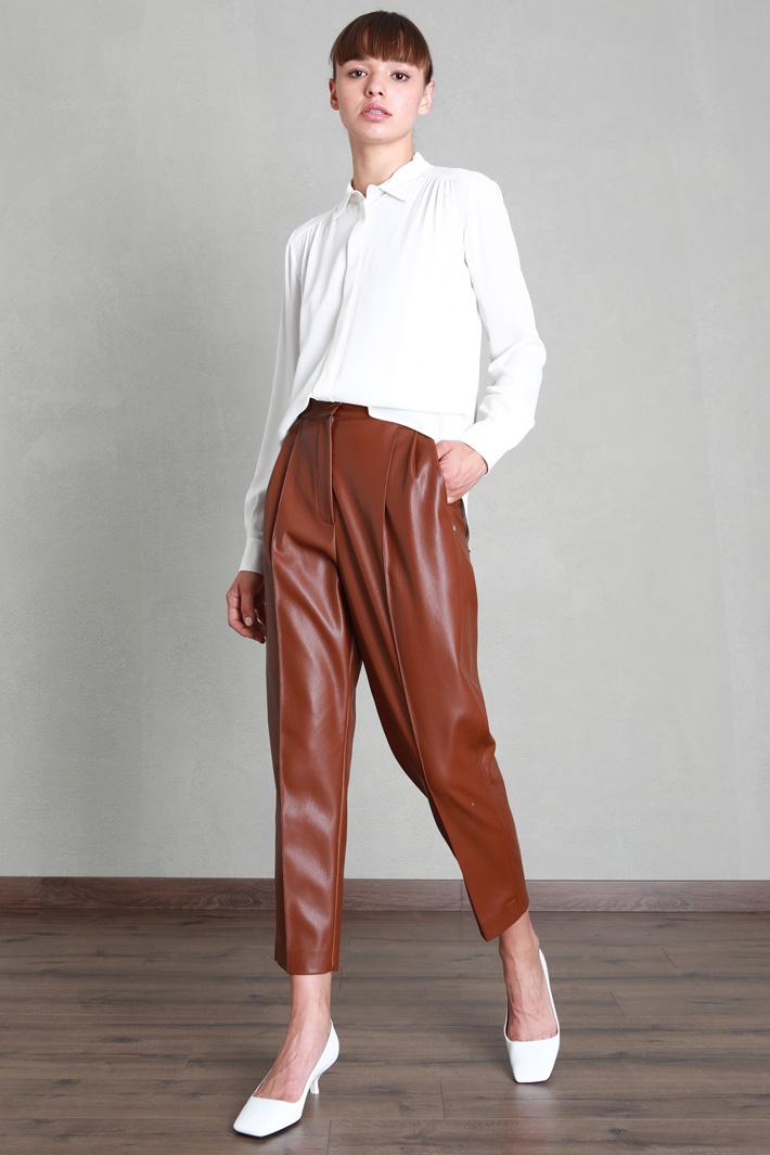 Silk crepe blouse Intrend