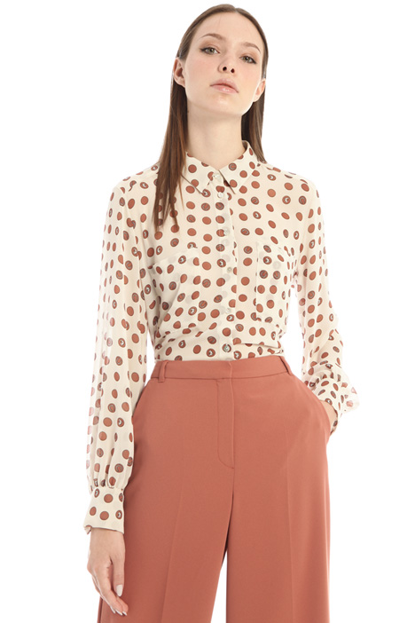 Printed georgette blouse Intrend