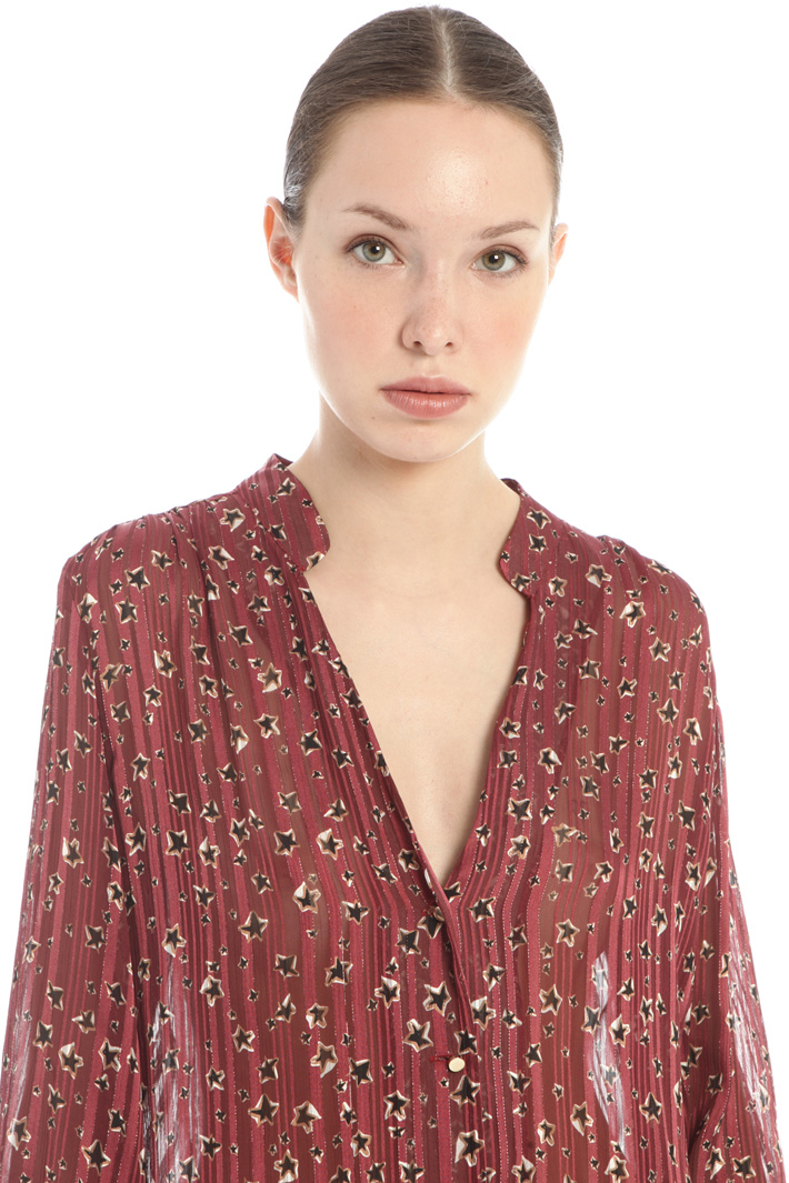 V-neck blouse Intrend