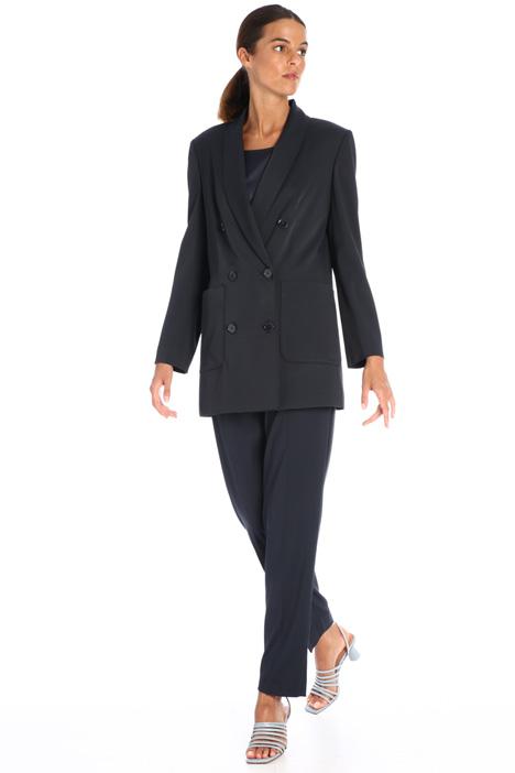 Gabardine slim fit trousers Intrend