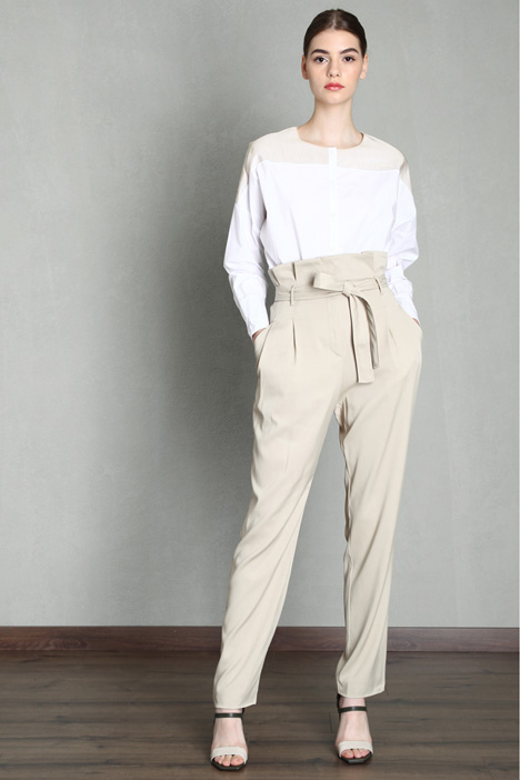 High waist baggy trousers Intrend