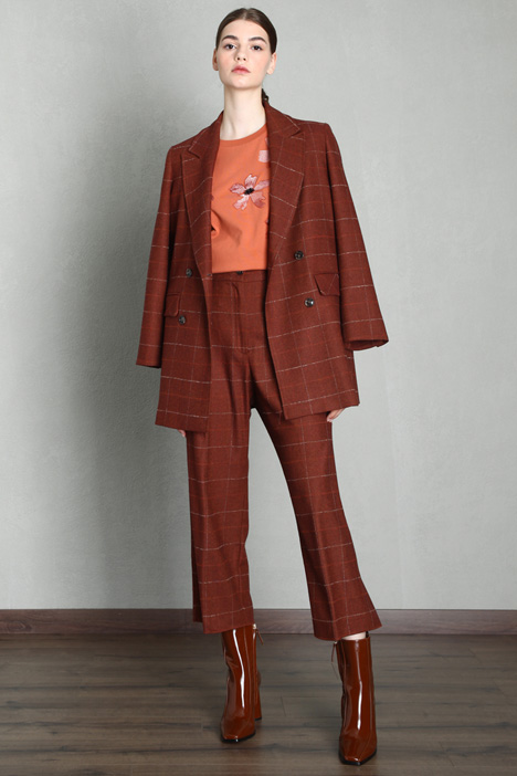 Soft flannel trousers Intrend